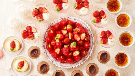 いちご&チョコレートデザートビュッフェ(2月)