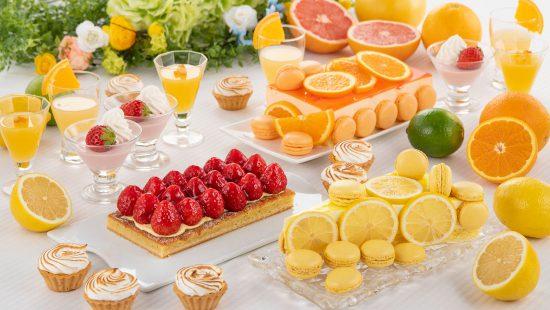 苺とさわやかフルーツのデザートビュッフェ(4月)